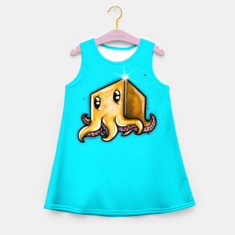 Thumbnail image of Cute little octopus  Girl's summer dress, Live Heroes