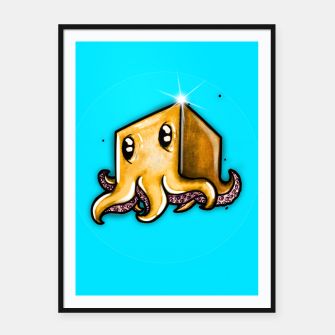 Thumbnail image of Cute little octopus  Framed poster, Live Heroes