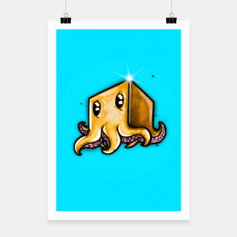 Thumbnail image of Cute little octopus  Poster, Live Heroes