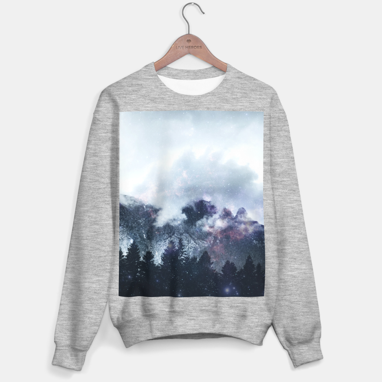 Image of Worlds That Won't Listen Sweater regular - Live Heroes