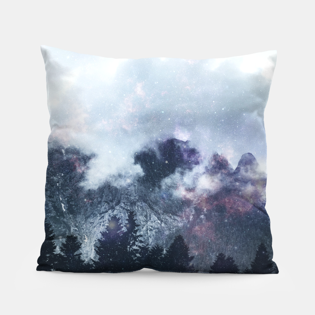Image of Worlds That Won't Listen Pillow - Live Heroes