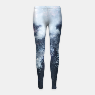Thumbnail image of Worlds That Won't Listen Girl's leggings, Live Heroes