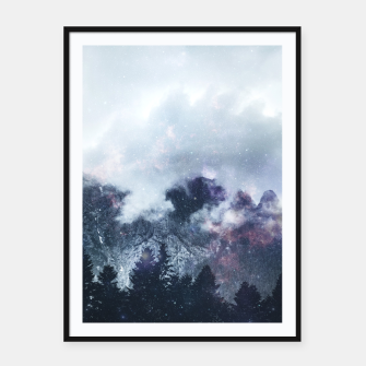 Thumbnail image of Worlds That Won't Listen Framed poster, Live Heroes