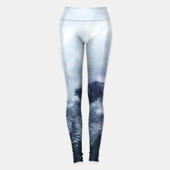 Thumbnail image of Worlds That Won't Listen Leggings, Live Heroes