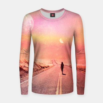 Thumbnail image of 88' Highway Woman cotton sweater, Live Heroes