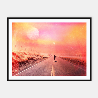Thumbnail image of 88' Highway Framed poster, Live Heroes