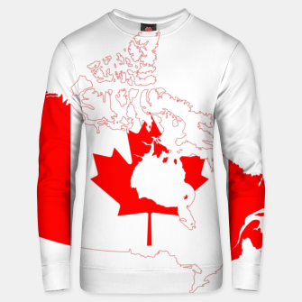 Miniaturka Canada Day Map  Cotton sweater, Live Heroes