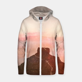 Thumbnail image of The Times Gone By Cotton zip up hoodie, Live Heroes