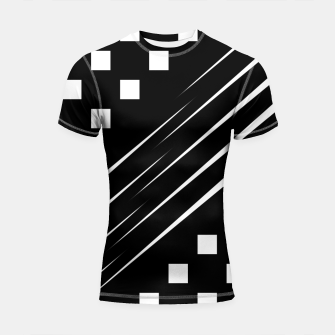 Thumbnail image of Slash Blocks Shortsleeve rashguard, Live Heroes