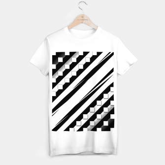 Thumbnail image of Swipe Shadow Blocks T-shirt regular, Live Heroes