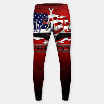Thumbnail image of July 4th 1776 Freedom Cotton sweatpants, Live Heroes
