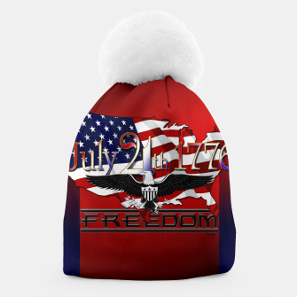 Thumbnail image of July 4th 1776 Freedom Beanie, Live Heroes