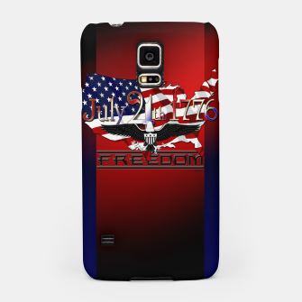 Thumbnail image of July 4th 1776 Freedom Samsung Case, Live Heroes