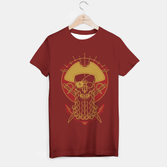Miniaturka Skull Pirate T-shirt regular, Live Heroes