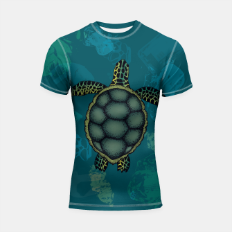 Imagen en miniatura de The Joy of Summer Shortsleeve rashguard, Live Heroes