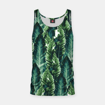 Thumbnail image of Green Vibes #1 #tropical #foliage #decor #art Muskelshirt , Live Heroes