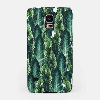 Thumbnail image of Green Vibes #1 #tropical #foliage #decor #art Handyhülle für Samsung, Live Heroes