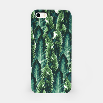 Thumbnail image of Green Vibes #1 #tropical #foliage #decor #art iPhone-Hülle, Live Heroes