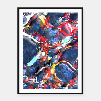 Thumbnail image of The Creation Framed poster, Live Heroes