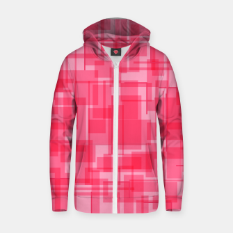 Thumbnail image of Virtual Pink Cotton zip up hoodie, Live Heroes