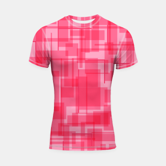 Thumbnail image of Virtual Pink Shortsleeve rashguard, Live Heroes