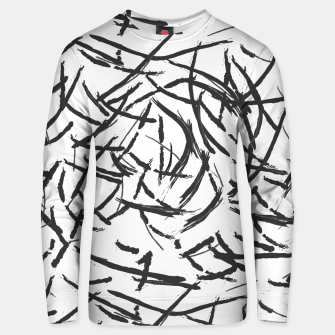 Thumbnail image of Falling Lines Cotton sweater, Live Heroes