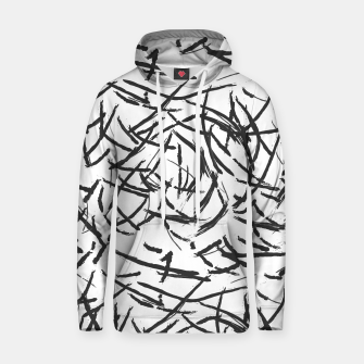 Thumbnail image of Falling Lines Cotton hoodie, Live Heroes