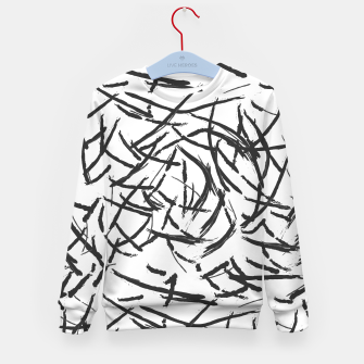 Thumbnail image of Falling Lines Kid's sweater, Live Heroes