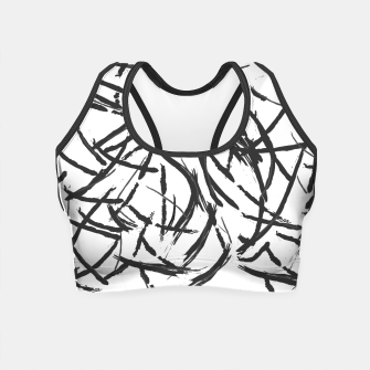 Thumbnail image of Falling Lines Crop Top, Live Heroes