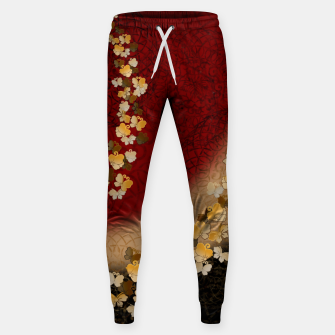 Miniaturka Japanese style butterfly design Cotton sweatpants, Live Heroes