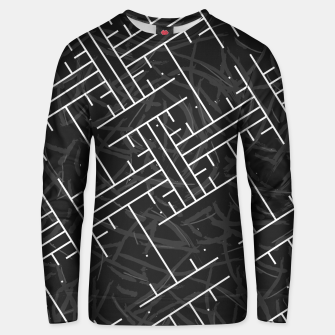Thumbnail image of White Maze Cotton sweater, Live Heroes