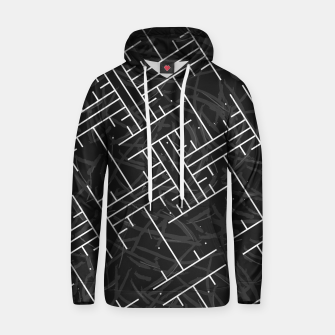 Thumbnail image of White Maze Cotton hoodie, Live Heroes