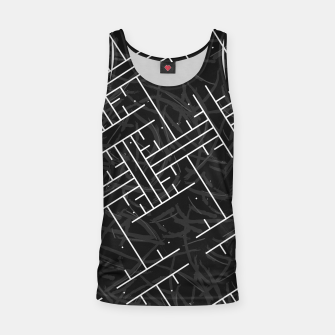 Thumbnail image of White Maze Tank Top, Live Heroes