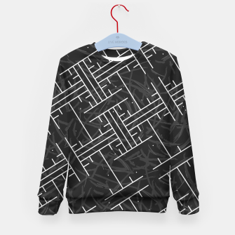 Thumbnail image of White Maze Kid's sweater, Live Heroes