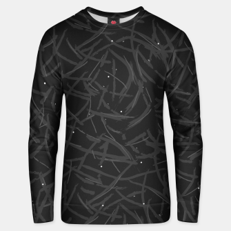 Thumbnail image of Falling Lines Black Edition Cotton sweater, Live Heroes
