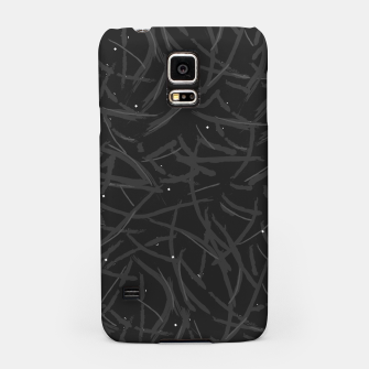 Thumbnail image of Falling Lines Black Edition Samsung Case, Live Heroes