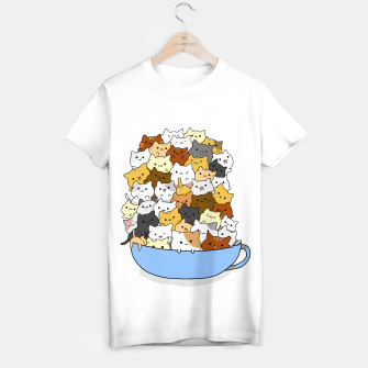 Thumbnail image of Full Cup Cats T-shirt regular, Live Heroes