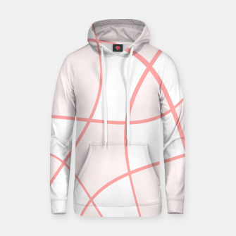 Imagen en miniatura de Abstract pattern - pink. Cotton hoodie, Live Heroes