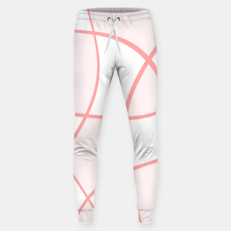 Imagen en miniatura de Abstract pattern - pink. Cotton sweatpants, Live Heroes