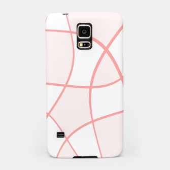 Miniaturka Abstract pattern - pink. Samsung Case, Live Heroes