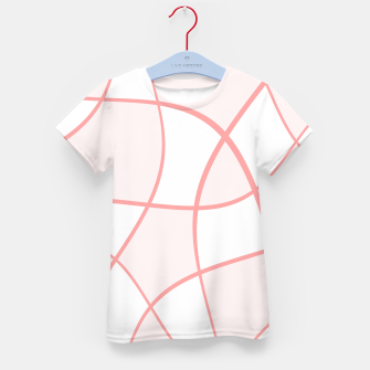 Imagen en miniatura de Abstract pattern - pink. Kid's t-shirt, Live Heroes