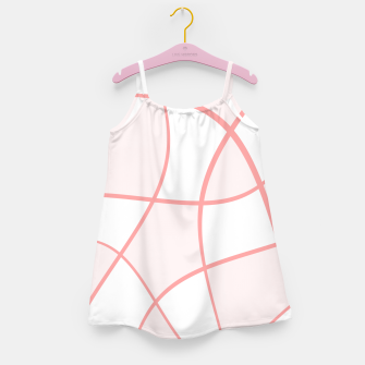 Imagen en miniatura de Abstract pattern - pink. Girl's dress, Live Heroes