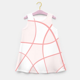 Imagen en miniatura de Abstract pattern - pink. Girl's summer dress, Live Heroes