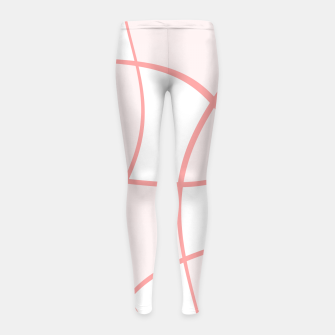 Imagen en miniatura de Abstract pattern - pink. Girl's leggings, Live Heroes