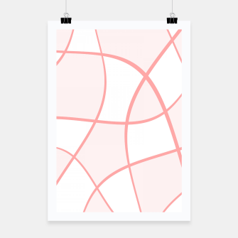 Miniaturka Abstract pattern - pink. Poster, Live Heroes