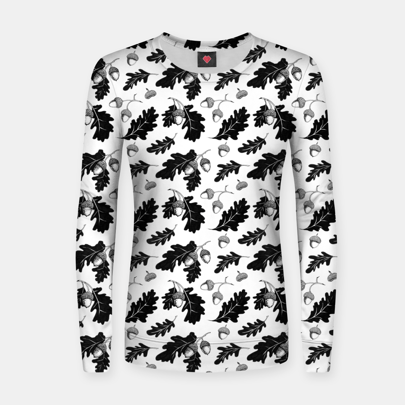 Image of Acorns Woman cotton sweater - Live Heroes