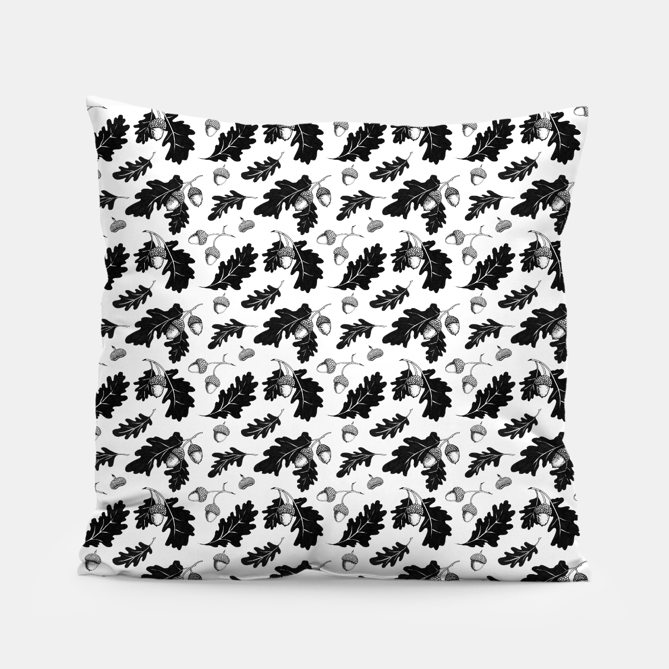 Image of Acorns Pillow - Live Heroes
