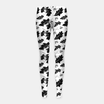 Thumbnail image of Acorns Girl's leggings, Live Heroes