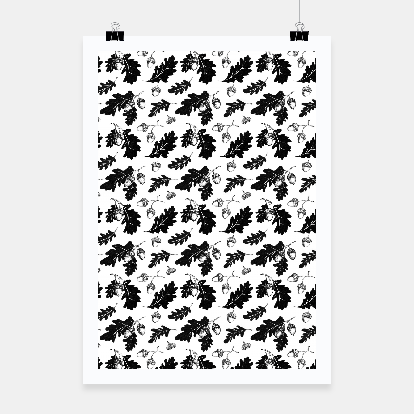 Image of Acorns Poster - Live Heroes