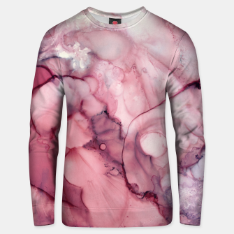 Thumbnail image of Liquid Mauve Abstract Cotton sweater, Live Heroes